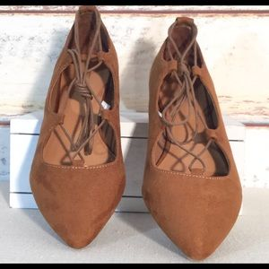 MOSSIMO FAUX SUEDE LACE UP Shoes
